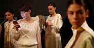 Грузинские модели перед показом - бэкстейдж Tbilisi Fashion Week