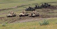 Международные военные учения на полигоне в Вазиани