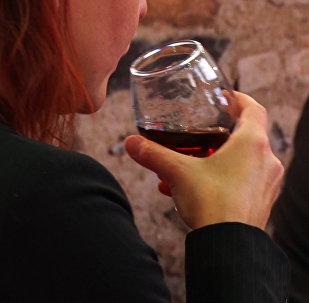 Астанчане смогли продегустировать грузинские вина
