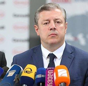 Премьер-министр Грузии Георгий Квирикашвили ответил на вопросы СМИ