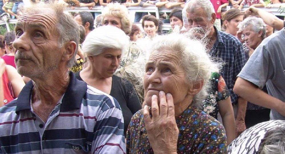 Неменее 700 вынужденных переселенцев вГрузии получат по $1000