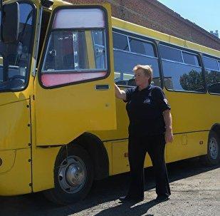 მარგალიტა ნაროუშვილი: ავტობუსის მძღოლად  2009 წლიდან ვმუშაობ.