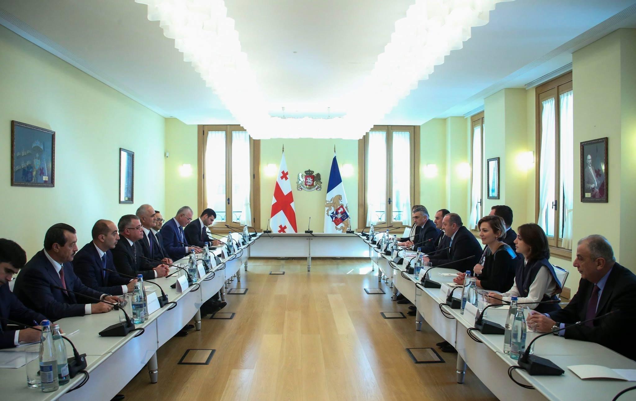 Министр экономики Азербайджана провел встречи спервыми лицами Грузии
