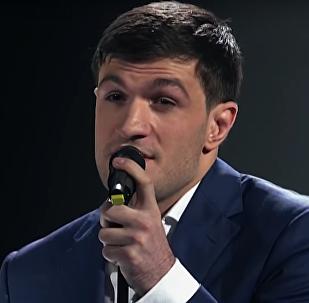 Участник шоу Голос Торнике Квитатиани