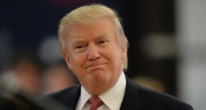 Американский миллиардер и телеведущий Дональд Трамп