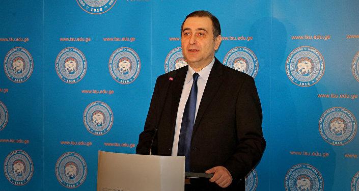 Проректор Тбилисского государственного университета имени И.Джавахишвили Михаил Чхенкели