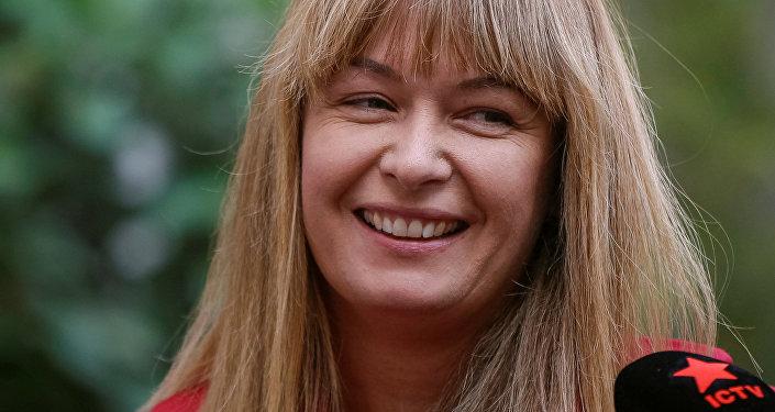 Сандра Руловс, супруга экс-президента Грузии Михаила Саакашвили