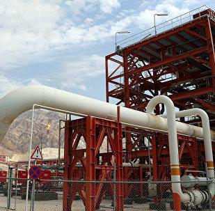 Добыча газа на юге Ирана