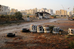 Последствия боев на юго-западе Алеппо