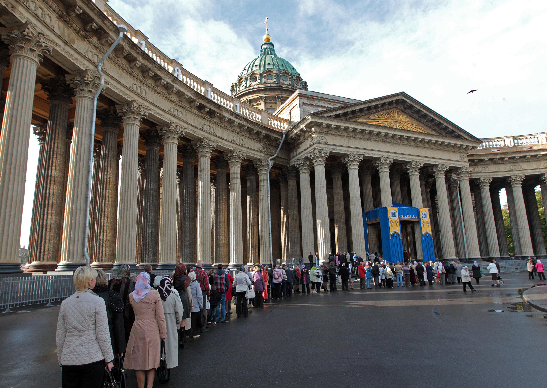 Празднование 200-летия Казанского собора в Санкт-Петербурге