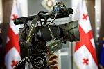 Журналисты на пресс-конференции