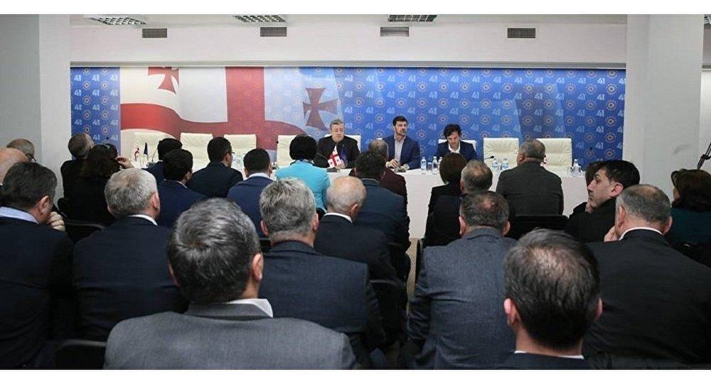 Завтра состоится совещание политсовета «Грузинской мечты»