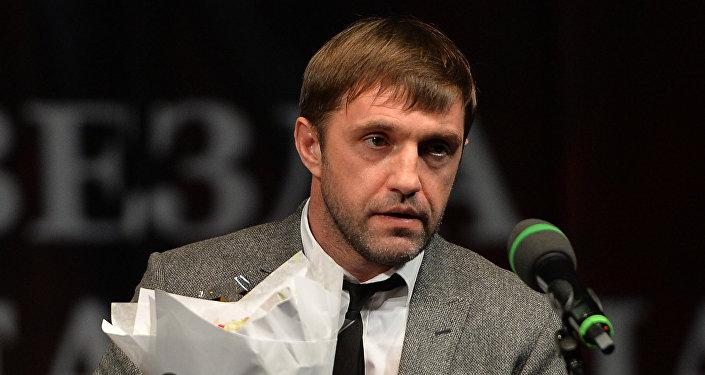 Владимир Вдовиченков на церемонии вручения премии Звезда театрала