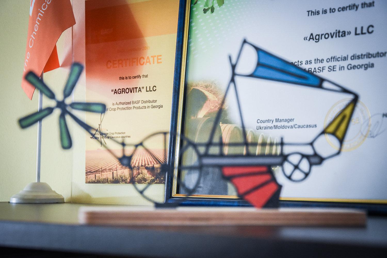 Сертификаты фирмы АргоВита