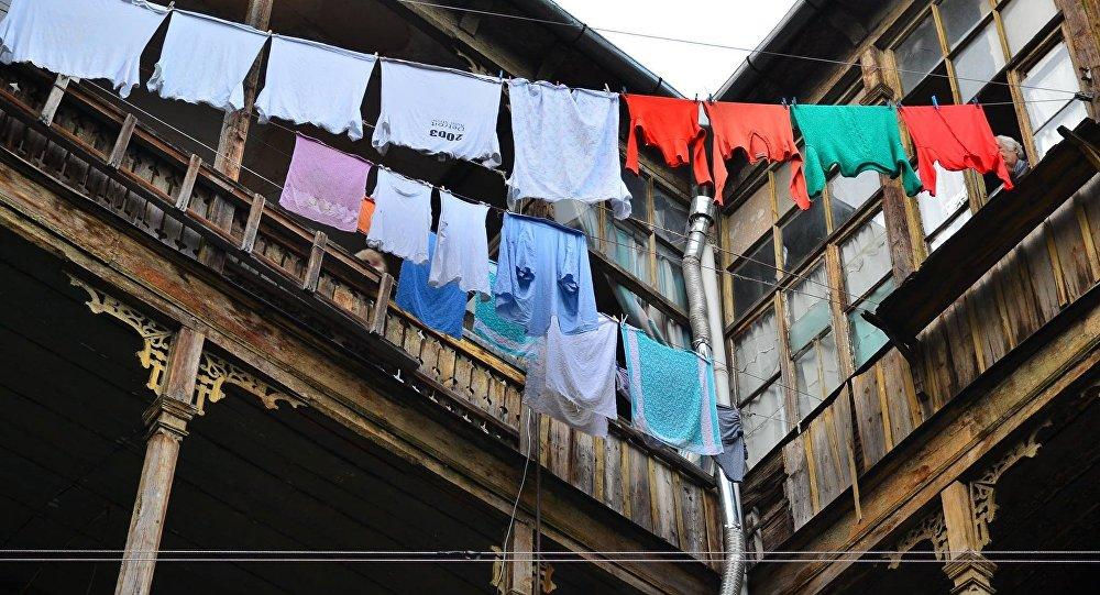 Тбилисские дворики