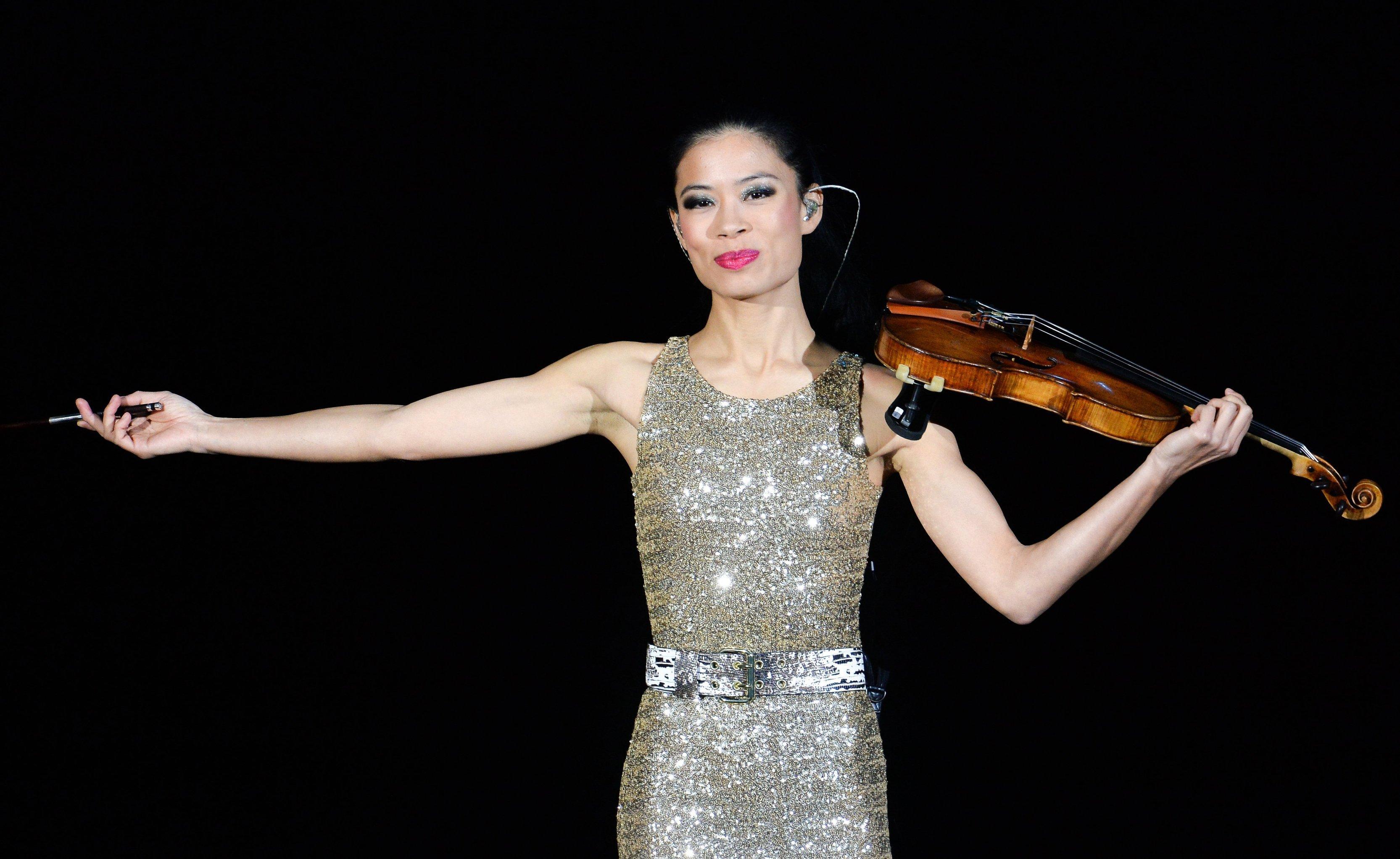 Британская скрипачка, композитор Ванесса Мэй