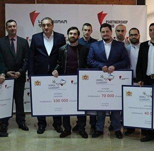Победители конкурса Стартап-Грузия