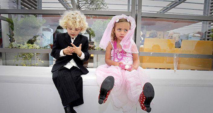 Детская свадьба в Амстердаме