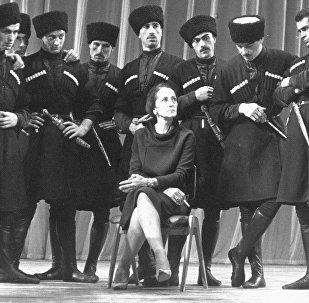 Балетмейстер, народная артистка СССР Нина Шалвовна Рамишвили