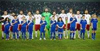 Сборная Грузии по футболу перед матчем с командой Молдовы