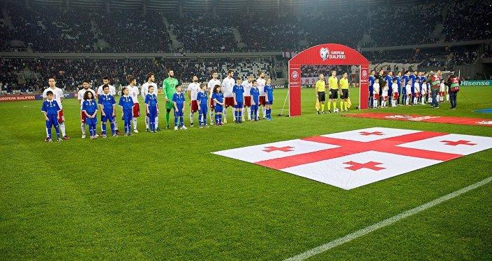Сборные Грузии и Молдовы перед матчем