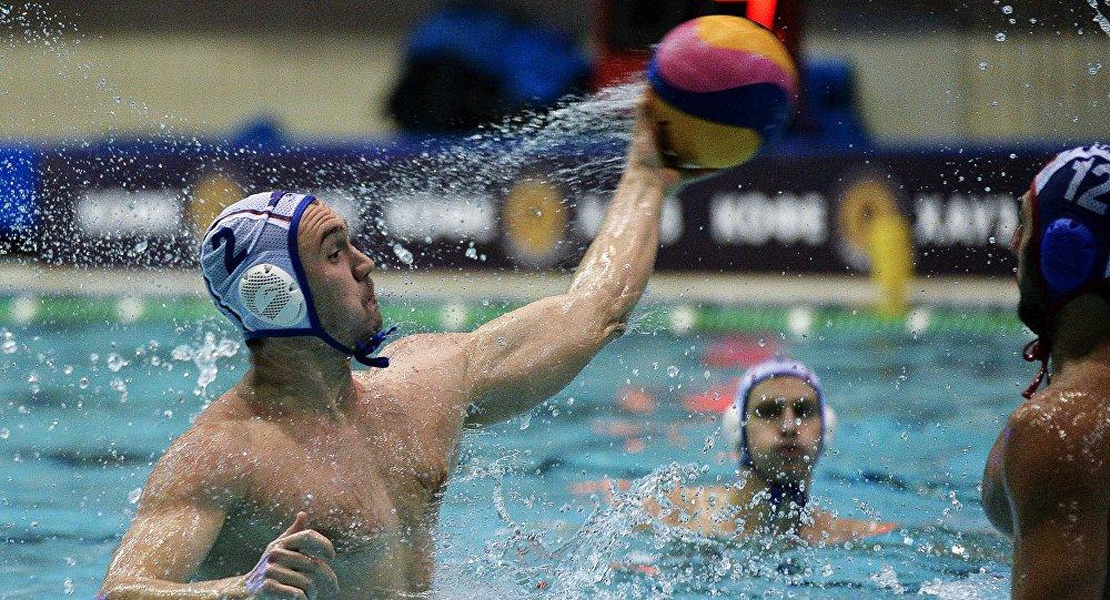 Игрок России Николай Лазарев