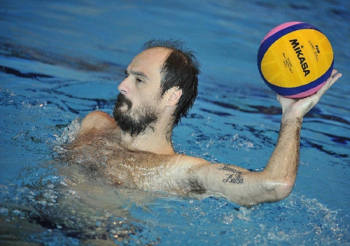 Игрок сборной Грузии по водному поло
