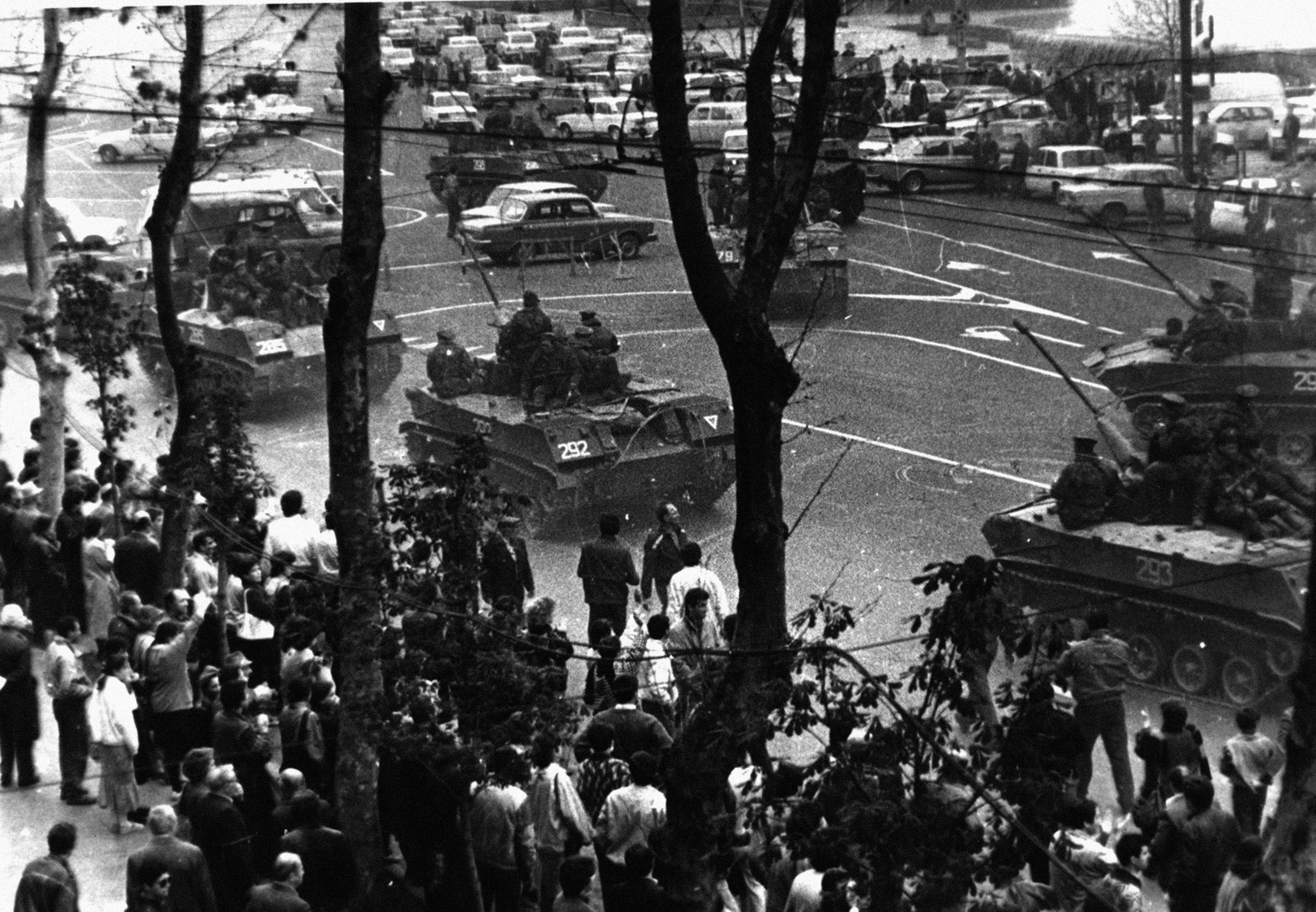 Кавказский Узел  Разгон митинга в Тбилиси 9 апреля 1989 года