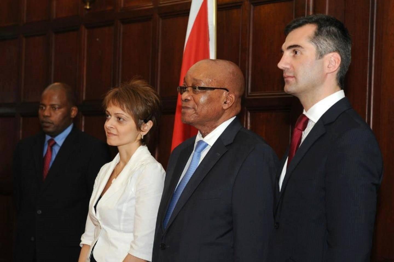 სამხრეთ აფრიკის რესპუბლიკის პრეზიდენტთან