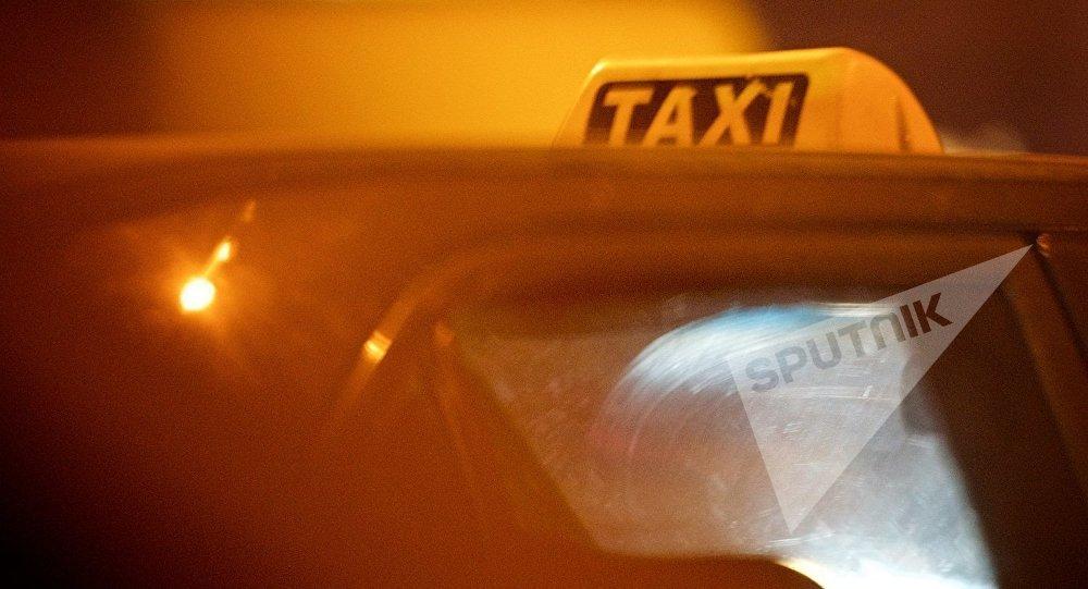Такси на улицах грузинской столицы