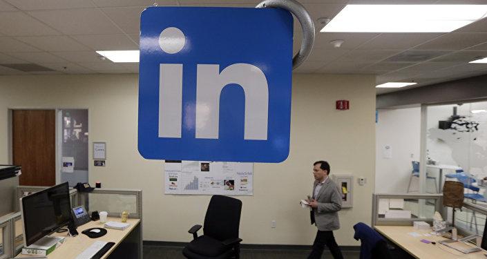 В офисе компании LinkedIn, архивное фото