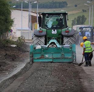 Строительство дороги инновационным методом