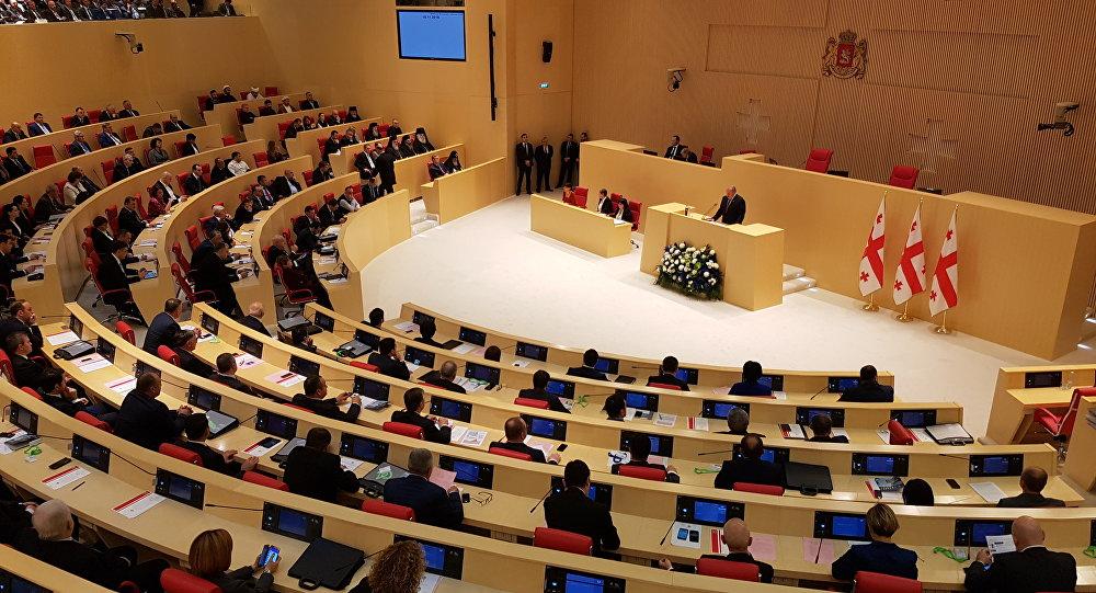 ВГрузии выбрали председателя парламента
