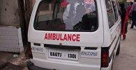 სასწრაფო დახმარების ავტომობილი ინდოეთში