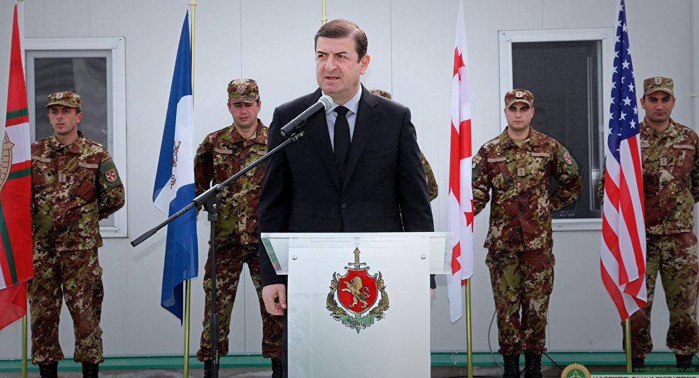 Замглавы МВД Грузии написал рапорт оботставке