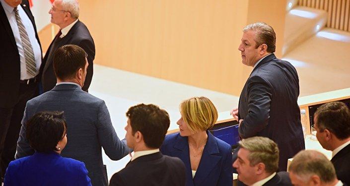 И.о. премьера Грузии представил новый состав руководства