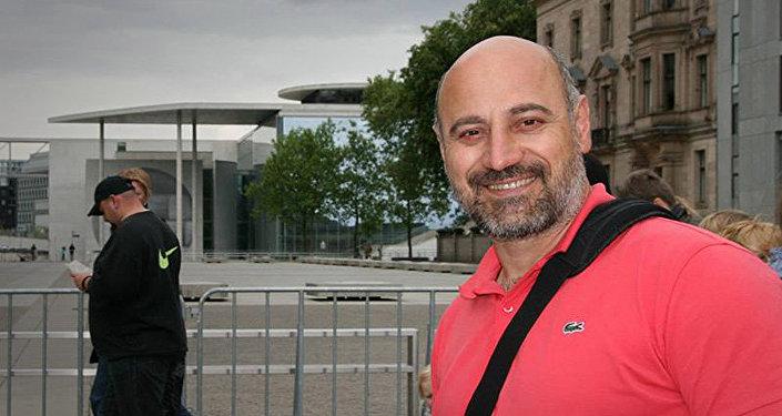 Грузинский художник Звиад Гоголаури