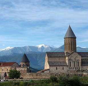Алавердский Кафедральный собор (собор Святого Георгия) в провинции Кахетия