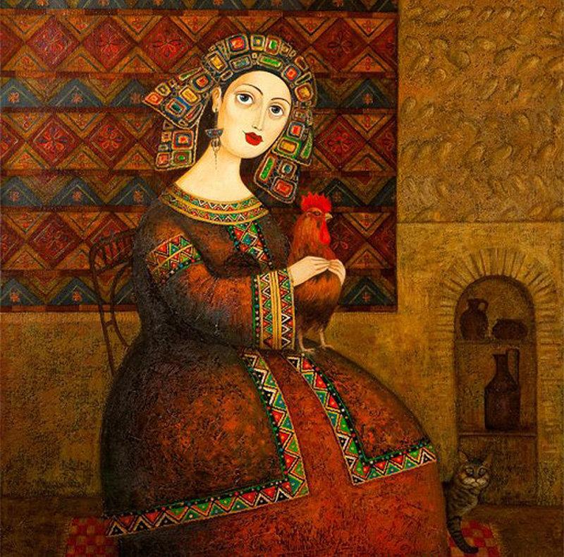 ზვიად გოგოლაურის ერთ-ერთი ნახატი