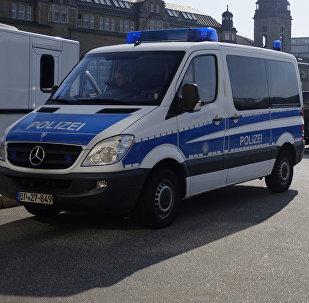 Автомобили полиции Гамбурга
