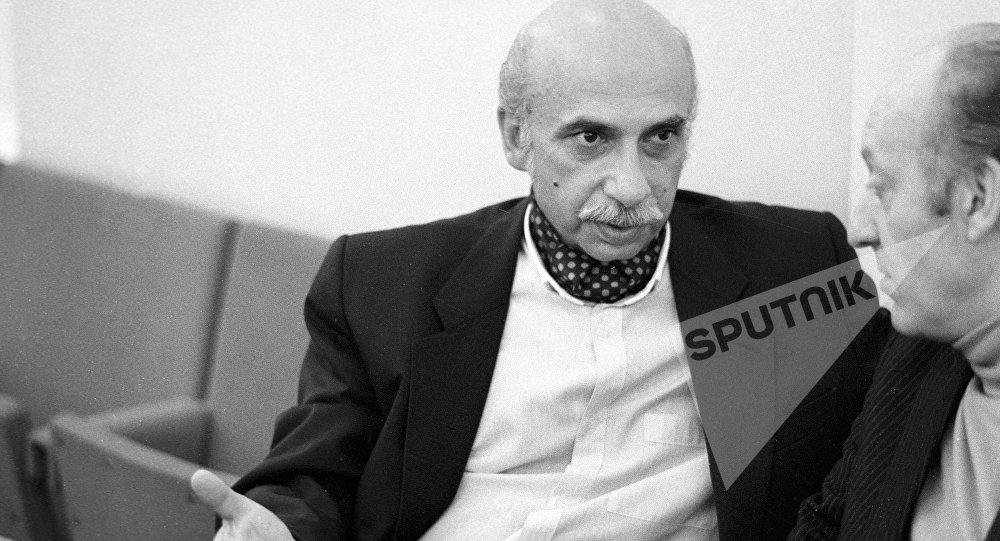 Композитор, народный артист Грузинской ССР Гия Канчели