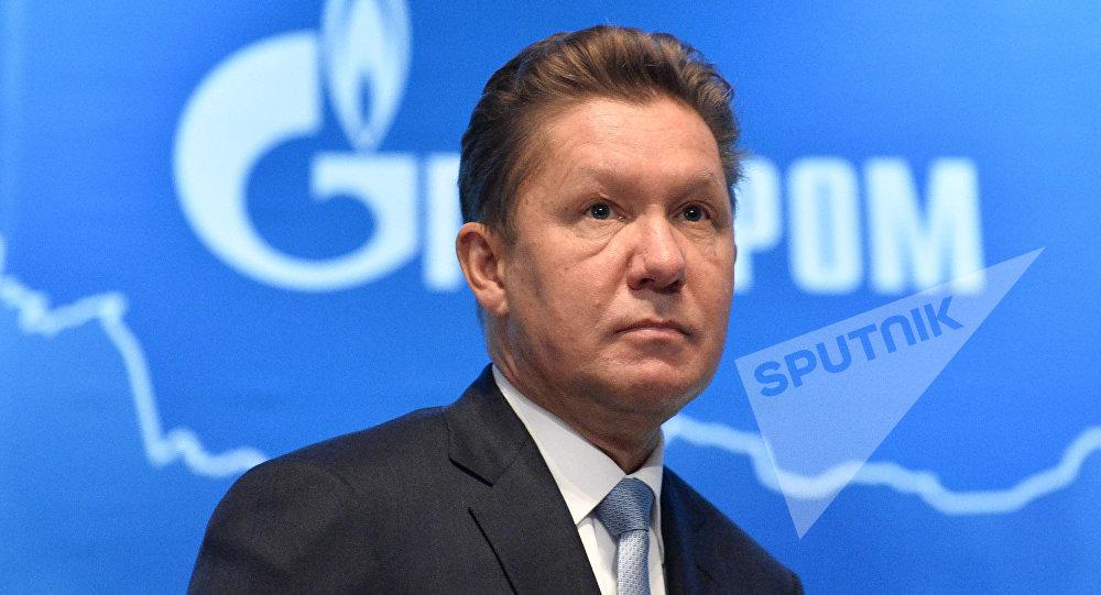 Председатель правления, заместитель председателя совета директоров ПАО Газпром Алексей Миллер