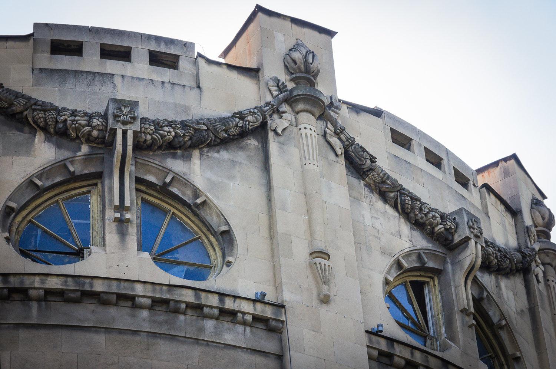 Украшение фасада дома Александра Мелик-Азарянца
