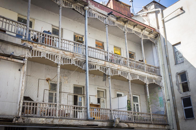 Внутренний двор дома Александра Мелик-Азарянца