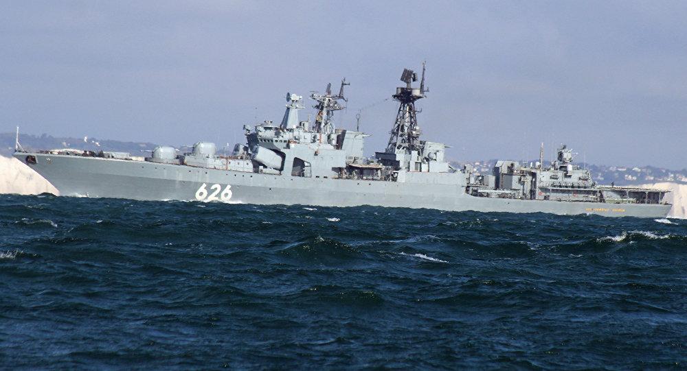 Российский корабль спас украинский экипаж рыболовецкого судна вСредиземном море