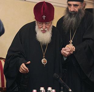 ილია მეორის ვიზიტი რუსეთში