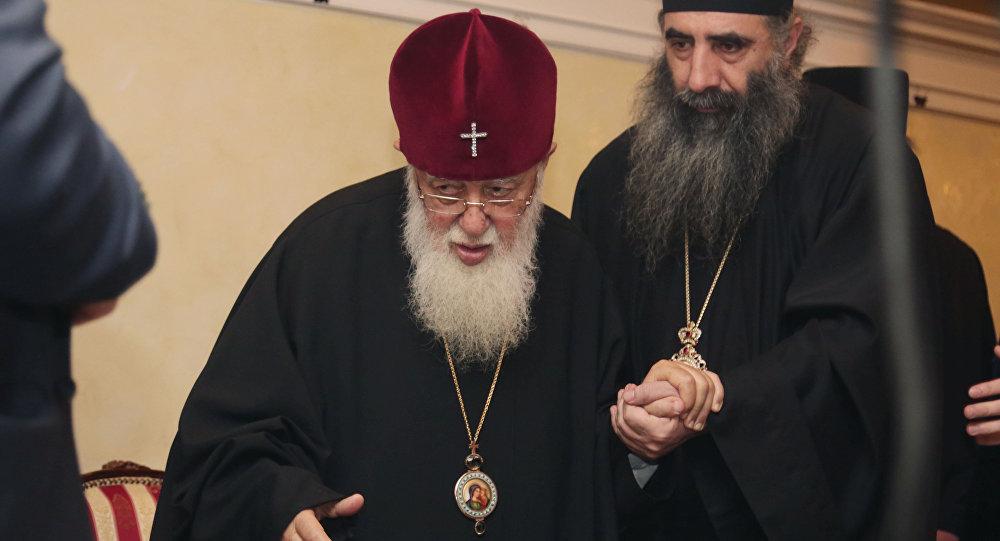 Визит Илии II в РФ