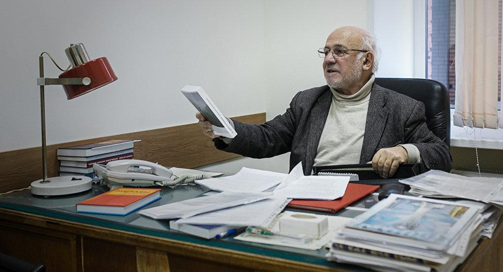 Главный редактор журнала Дружба народов Александр Эбаноидзе