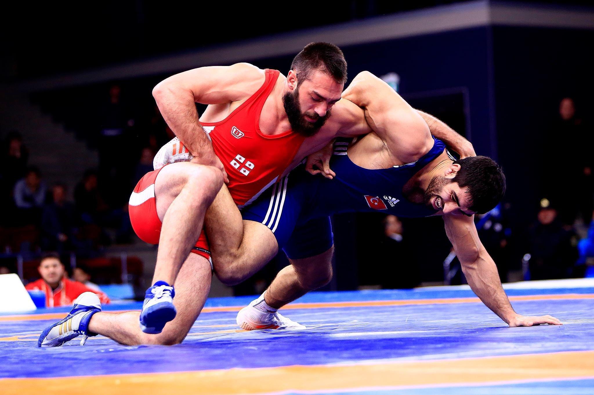 Гено Петриашвили на«Золотом Гран-при» встолице Азербайджана завоевал золотую медаль