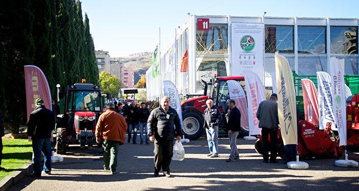 Международная сельскохозяйственная выставка на территории выставочного комплекса Expo Georgia